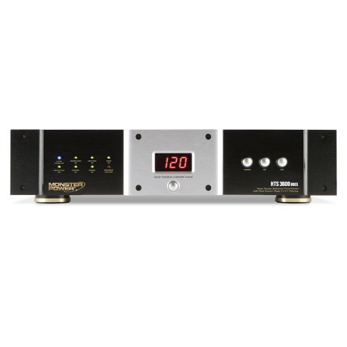 Monster Home Theatre Reference HTS 3600 MKII PowerCenter with Clean Power Stage 3 v.2.1 Circuitry