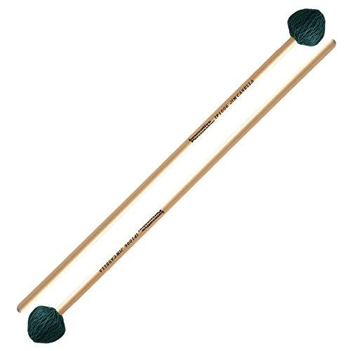 Innovative Percussion IP1006 Jim Casella Series Hard Vibraphone Mallets w/Rattan Handles, 1 (