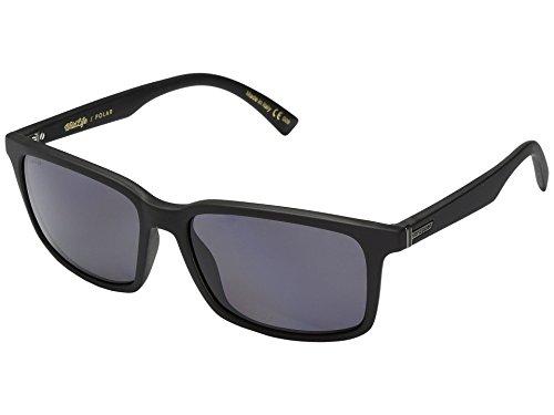 Von Zipper Pinch Wildlife Polarized Sunglasses-Black Satin-Vintage Grey (Vintage Von Sunglasses Zipper)