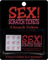 Kheper Games Sex! Scratch Tickets