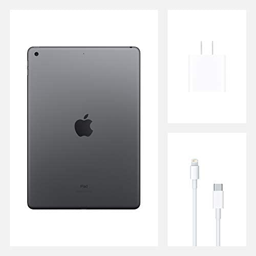New Apple iPad (10.2-inch, Wi-Fi, 32GB) - Space Gray (Latest Model, eighth Generation)