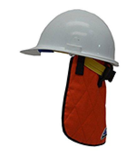HyperKewl FR (Fire Resistant) Hi-Viz Orange Cooling Neck Shade - ORANGE-FR by HyperKewl