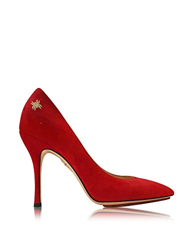 charlotte-olympia-womens-c1750001307-red-suede-pumps