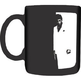 1 X Scarface Silhouette Mug