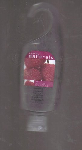 Raspberry Naturals Avon - Avon Naturals Renewing Raspberry Shower Gel - 5 Oz
