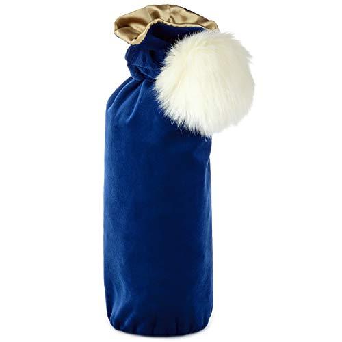 Hallmark Signature Holiday Bottle Gift Bag (White Puff)