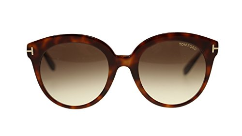 Tom Ford Monica Women's Sunglasses FT0429 56F Havana/Brown Gradient Round - Tom Ford Sunglasses Gucci