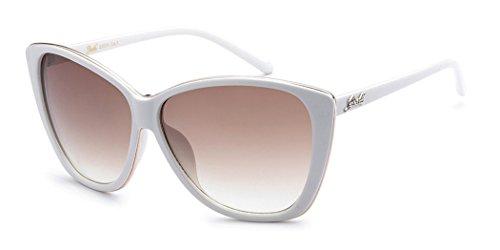 (Giselle Oversized Cat Eye Women's Fashion Designer Sunglasses)
