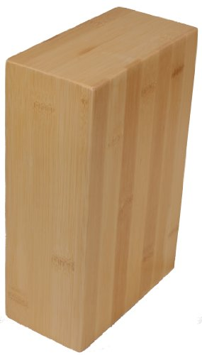 j/fit Eco-Friendly Bamboo Yoga Block