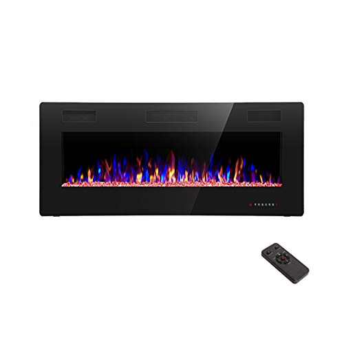 R.W.FLAME 42 inch Recessed and Wall Mounted