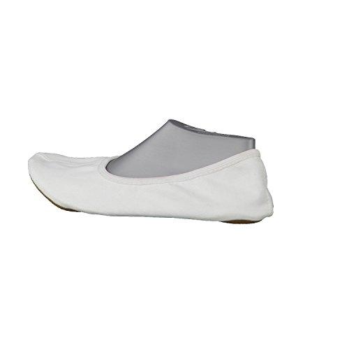Blanc 0 Enfant Mixte Gymnastique W Basic Chaussures weiss 01 Beck xHwnqa05Ww