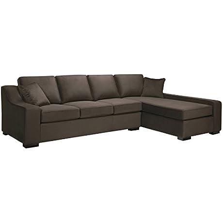 Sofaweb Com Presley Dark Brown Sectional Sofa