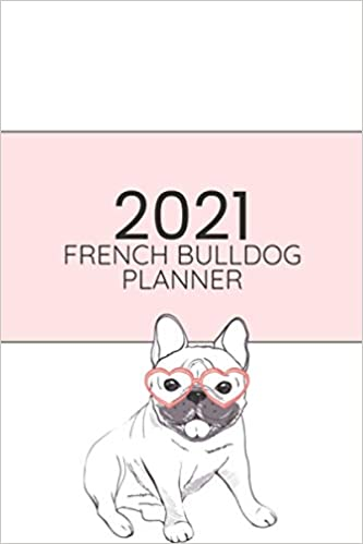 French Bulldog and Coffee planner HolderPlanner CoverPlanner GiftPlanner BagHappy Planner bagStudent gift