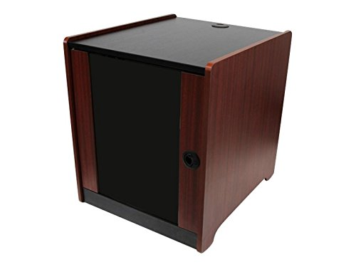 StarTech.com 12U Rack Enclosure Server Cabinet - 20.6 in. Deep - Wood Finish - Flat Pack - Server Rack Dimensions