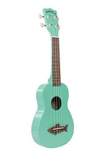 Kala, 4-String Ukulele, Green, One Size (MK-SS/GRN) ()