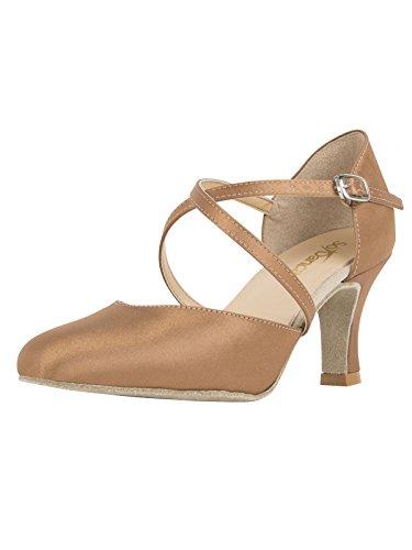 Si Danca Chaussures D'or Pour Les Femmes TOLJA