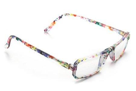 ICU Eyewear Dr. Dean Edell +2.25 Magnification Half-eye Reading Glasses (10655 Multi-Color) Dean Edell Eyewear