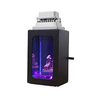 Luz de curado de resina UV con caja de regalo para impresora 3D SLA DLP LCD solidificar placa giratoria solar de resina uv de 405 nm: Amazon.es: Industria, empresas y ciencia