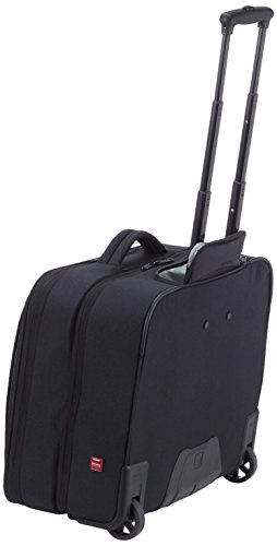 DELSEY Laptop Rollkoffer, 23 cm, 45 L, Grau Schwarz