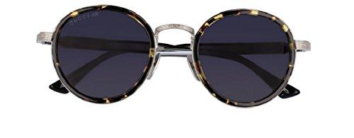 Gucci Fashion GG0067S Sunglasses 002 Gold-Black / Grey Lens 48 mm