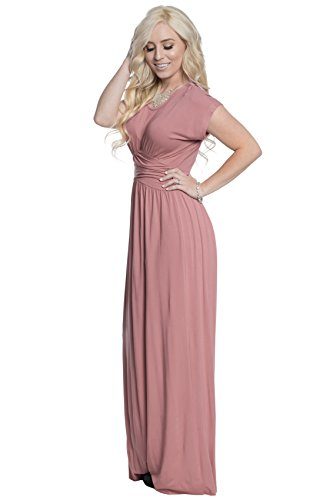 Dusty Rose Bridesmaid Dresses - 4