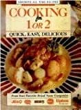 Cooking for One or Two, Cheryl Chrysler, 1561737763