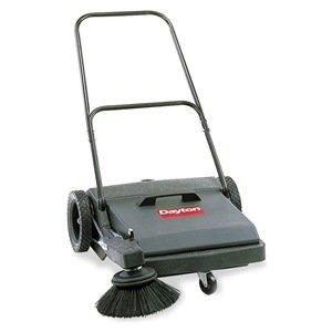 Dayton Push Sweeper, Walk Behind, 27'', 8 gal. by Dayton