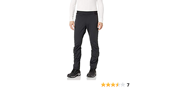 Craft Sportswear Mens Force Nordic Cross Country Skiing and Training Reflective 3-Layer Softshell Pants