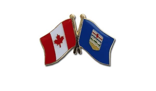 ONTARIO CANADIAN PROVINCE .. CANADA PROVINCIAL COUNTRY FLAG SMALL FRIENDSHIP LAPEL PIN BADGE .. NEW