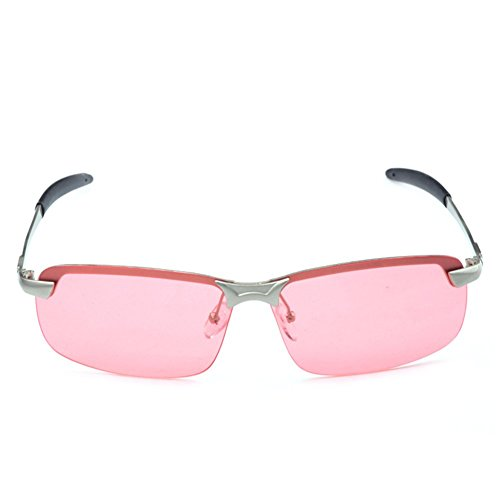 Y-H Men Eyewear Driver Night Use Anti-Glare Fishing Outdoor Activity Sunglasses(C2)