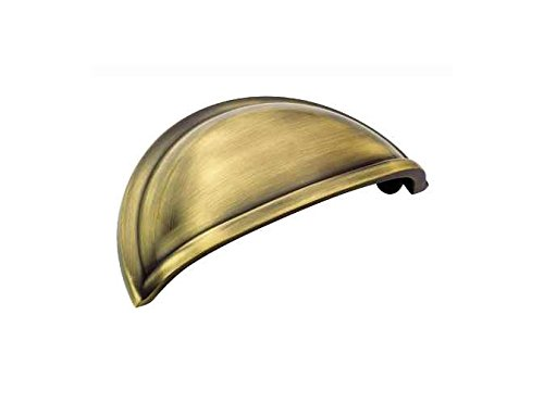 Allison 3 in. Drawer Cup Pull (Set of 10) (Elegant Brass Cup Pull)