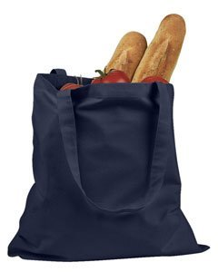 BADedge Canvas Promo Tote HandBag - Navy ()