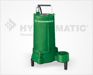 Hydromatic SHEF50A1 1/2 HP, 1 Phase, 115 Volt, Cast Iron Effluent Pump, 20' Power Cord (Automatic)