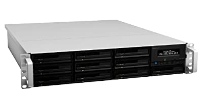 Synology RackStation 10-Bay (Diskless) 2U Rackmount Network Attached Storage RS3413xs+ from Synology America