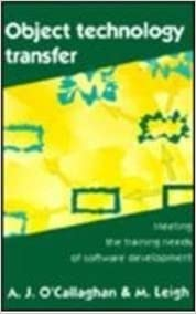 Book Object Technology Transfer: Meeting the Training Needs of Software Development