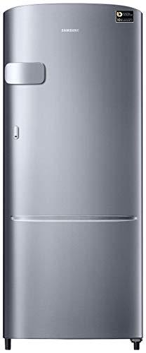 Samsung 215 L 3 Star Inverter Direct-Cool Single Door Refrigerator (RR22T3Y2YS8/HL, Elegant Inox(Light Doi Metal))
