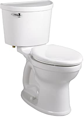 American Standard 211AA.104.021 Champion PRO Right Height 12-Inch Rough-In Elongated Toilet Combination Less Seat, Bone