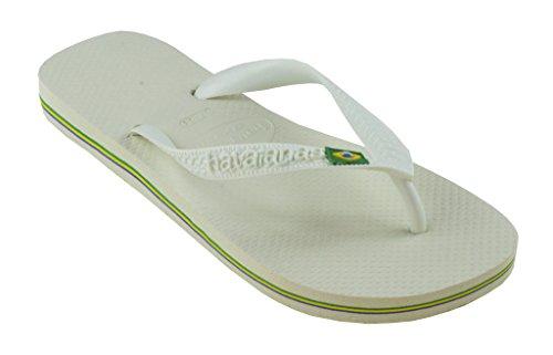Havaianas Heren Slippers Hbrasil Wit