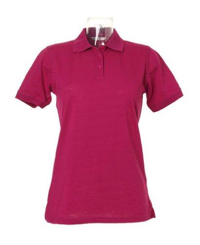 Kustom KitDamen Poloshirt Rosa Pink