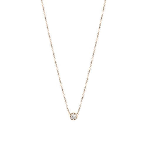 Tacori SN216Y18K Yellow Gold The Ivy Lane Diamond Pavé Chevron Pendant Necklace, 18