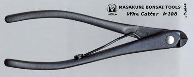 (0108)Masakuni bonsai tool Wire Cutter (mini) by masakuni-108