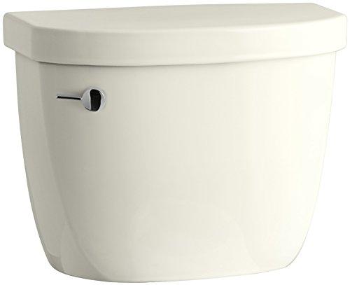 (KOHLER 4166-U-96 Cimarron 1.28 Gpf Toilet Tank with Insuliner Tank Liner, Biscuit)