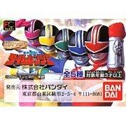 Gashapon HG series Mirai Sentai Time Ranger whole set of 5