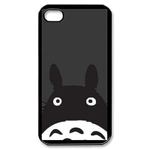 iPhone 4,4S Phone Case Black My Neighbor Totoro AFVT588126