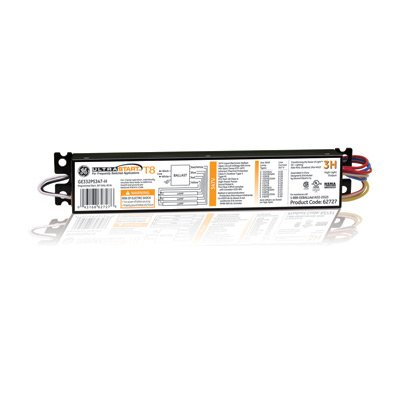 Program Start Ballast (GE 62727 LFL ULTRASTART ELECTRONIC PROGRAM / RAPID START BALLAST, LINEAR FLOURESCENT LAMP. 1-PACK)