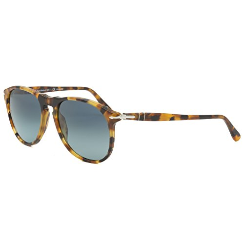 Persol Unisex Po9649s 55Mm Polarized - Sunglasses Oblong Male For Face