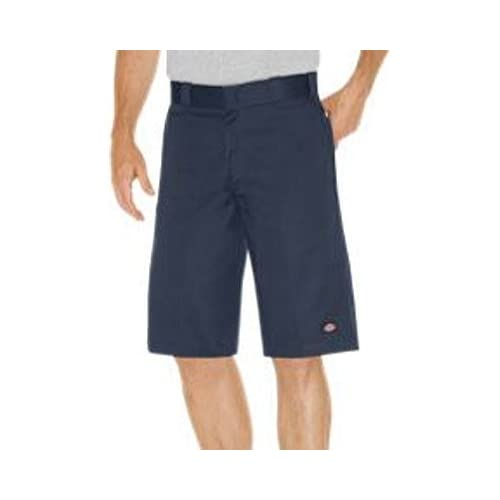 Cheap Dickies Mens 13 Relaxed Fit Multi-Pocket Work Short,Navy,US 36 for sale