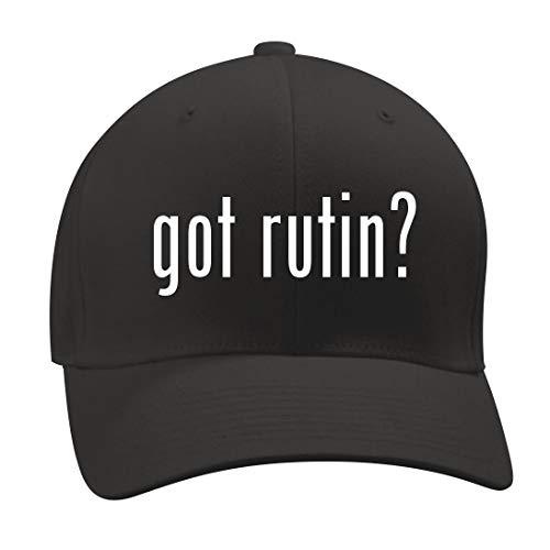 got Rutin? - A Nice Men's Adult Baseball Hat Cap, Black, Large/X-Large -