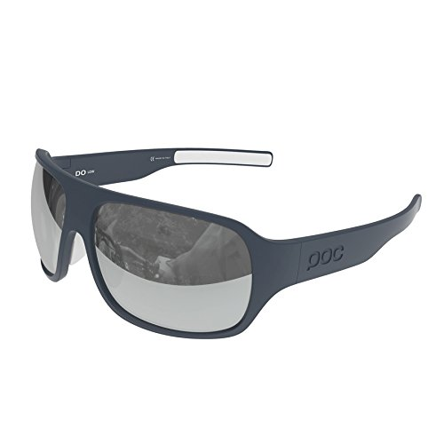 POC DO Low Sunglasses, Azurite Grey/Hydrogen White, One - Poc Sunglasses