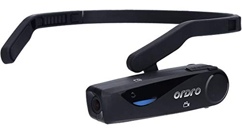 Wearable Video Camera Headset -Handsfree FPV Camera with Microphone and HD Video Capture,Ordro Model EP5 from Emperor of Gadgets